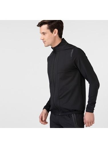 Lacoste Erkek Fermuarlı Sweatshirt SH0101.01S Siyah